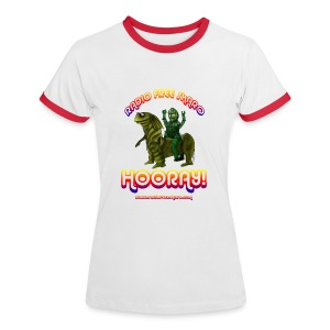 Hooray! (Ringer T-Shirt) - Women's Ringer T-Shirt