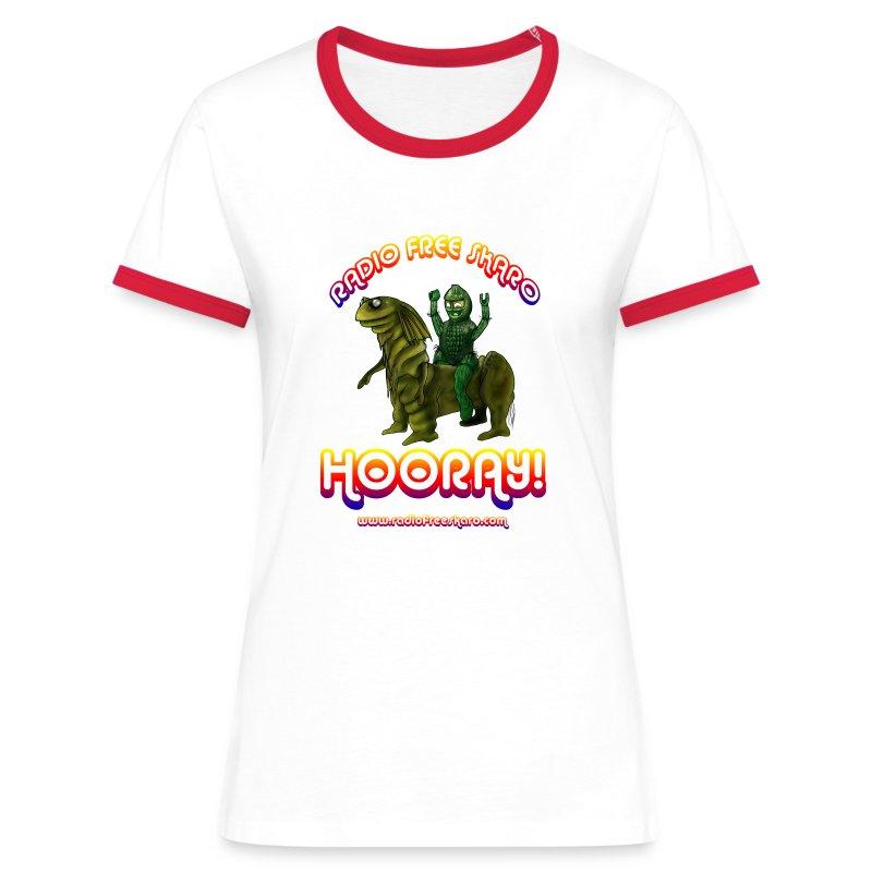 Hooray! (Ringer T-Shirt) - Women's Ringer T-Shirt