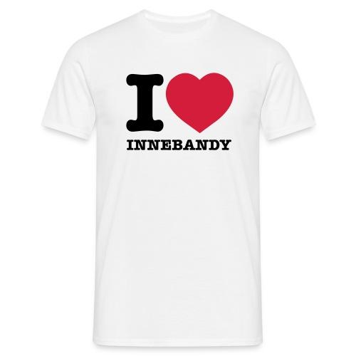I love Innebandy (h) - T-shirt herr