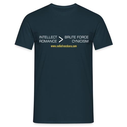 Intellect & Romance (T-Shirt) - Men's T-Shirt