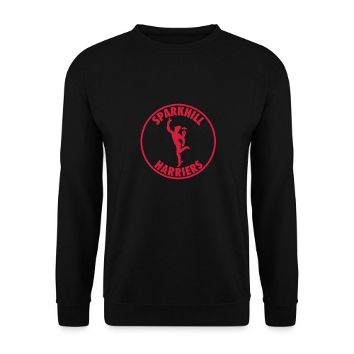 SPARKHILL MENS SWEATSHIRT - BLACK - Men's Sweatshirt