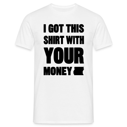 rich money - Men's T-Shirt