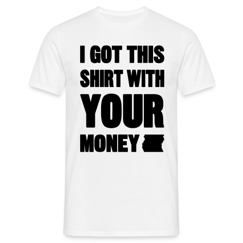 business money jumper - Men's T-Shirt