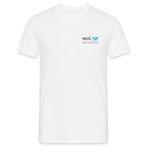Classic T-Shirt MUC BAVARIA dark-lettered - Men's T-Shirt