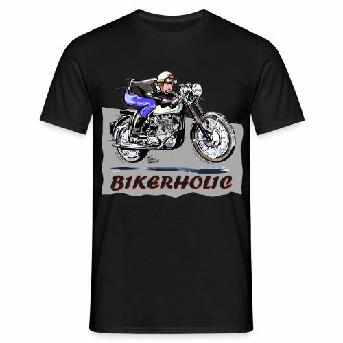 Bikerholic - Men's T-Shirt
