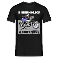 T-Shirts ~ Men's T-Shirt ~ Bikerholics Anonymous