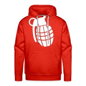 Grenade - Sweater (Red/White) - Mannen Premium hoodie