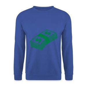 Money - Sweater (Red/Green) - Mannen sweater