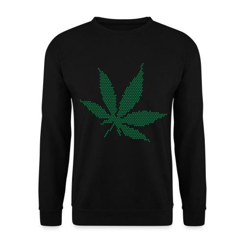 Ganja - Sweater (Black/Green) - Mannen sweater