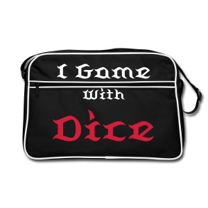 I Game With Dice - Retro Bag