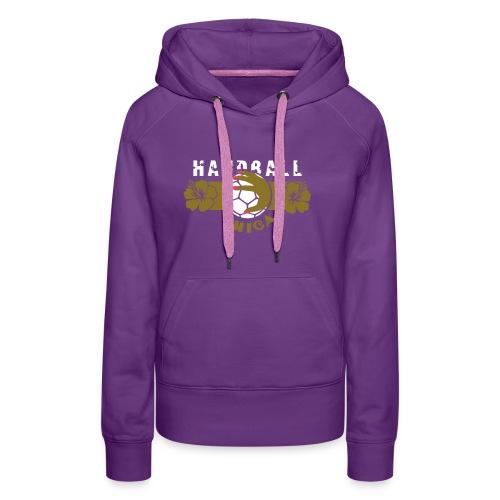 GIRL HANDBALL JEMGUM CHICA - Frauen Premium Hoodie