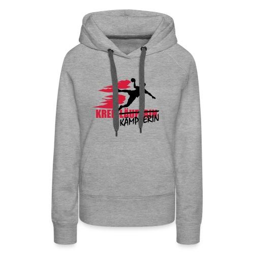 Kapuzenpulli Kreiskämpferin - Frauen Premium Hoodie
