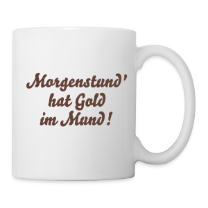 Morgenkaffee - Tasse