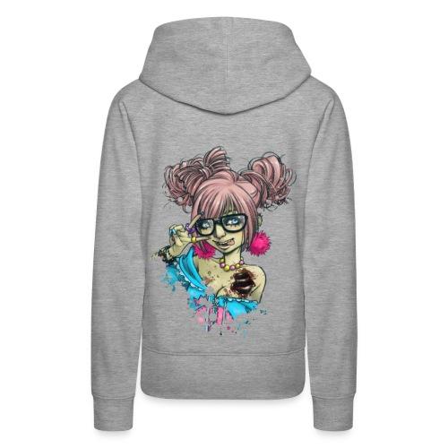 SHIBUYA UNDEAD colorful hoodie - Frauen Premium Hoodie