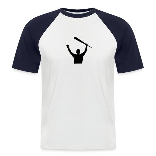 Baseball skjorte - Kortermet baseball skjorte for menn