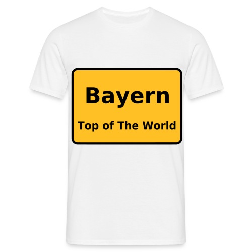 Top of the World - Männer T-Shirt