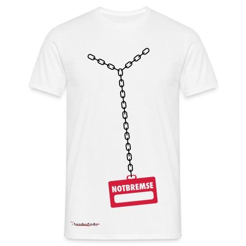 Notbremse - T-shirt herr