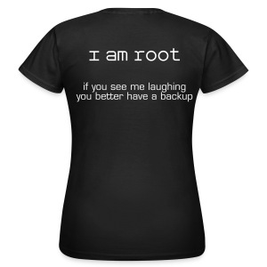 i am root F - Vrouwen T-shirt