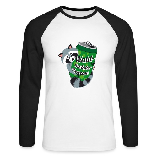 Long-Shirt Mr. Raccooni - Männer Baseballshirt langarm