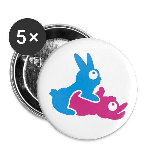 Bunneh Tramp Medium Badge (5 pack) - Buttons medium 32 mm