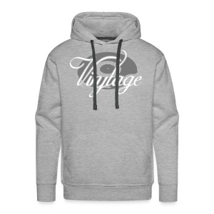 Sweat Shirt Vinyltage - Sweat-shirt à capuche Premium pour hommes