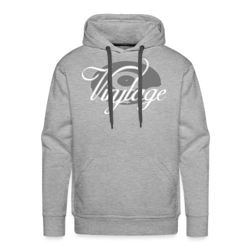 Sweat Shirt Vinyltage - Sweat-shirt à capuche Premium pour hommes