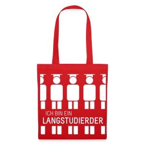 Langstudierder (Tas) - Tote Bag