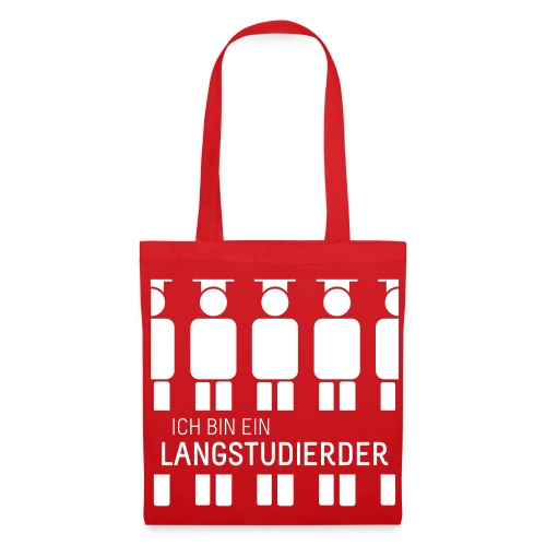 Langstudierder (Tas) - Tote Bag