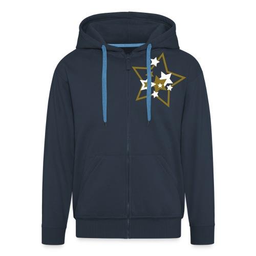 Star Hoodie - Men's Premium Hooded Jacket