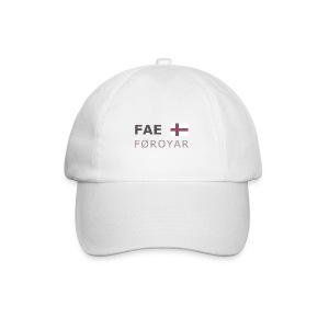 Base-Cap FAE FØROYAR dark-lettered - Baseball Cap