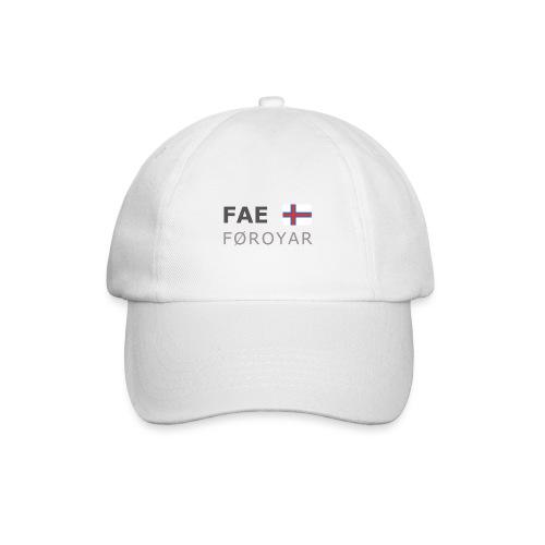 Base-Cap FAE FØROYAR dark-lettered - Baseball Cap
