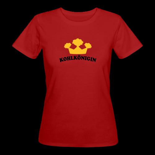 kohlkönigin | frauen t-shirt (klimaneutral) | für grünkohl und kohlfahrt - Frauen Bio-T-Shirt