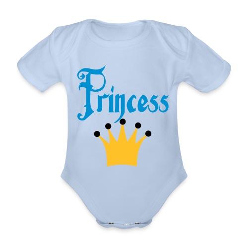 Princess - Baby bio-rompertje met korte mouwen