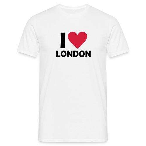 I love London  - Men's T-Shirt