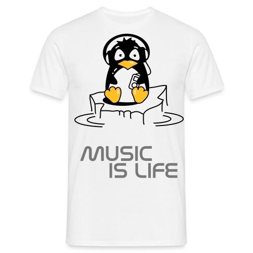 penguin's life - Men's T-Shirt