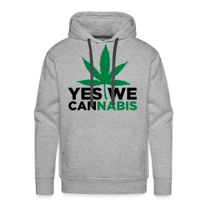 Sweat Capuche  Yes We Cannabis  - Sweat-shirt à capuche Premium pour hommes