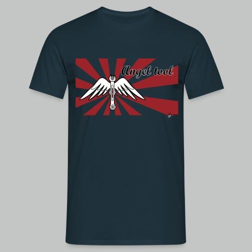 Ange l Tool - Navy - Men's T-Shirt