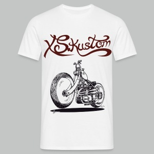 XS Kustom - White - Men's T-Shirt