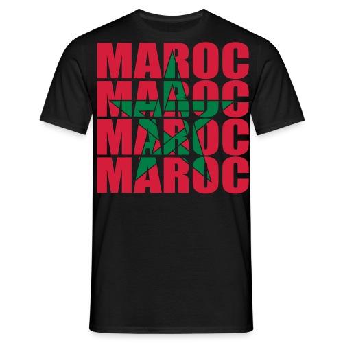 T-shirt Classique Homme G.A.V. Maroc - T-shirt Homme