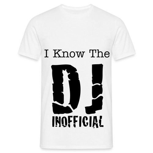 I Know The Dj Inofficial  - Herre-T-shirt