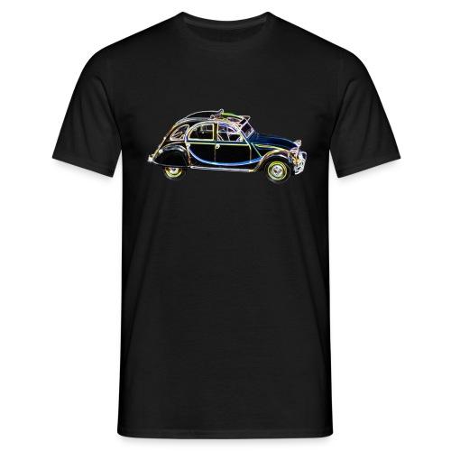 Neonglow Ente - Männer T-Shirt