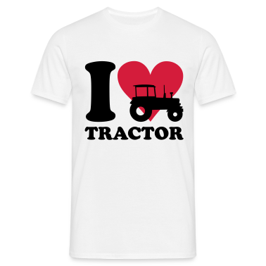 I love Tractor T-shirt