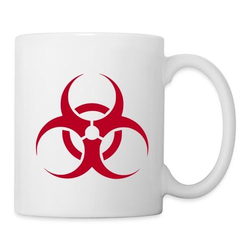 Biohazard Mug - Mug blanc