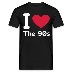 i love the 90's - T-shirt Homme