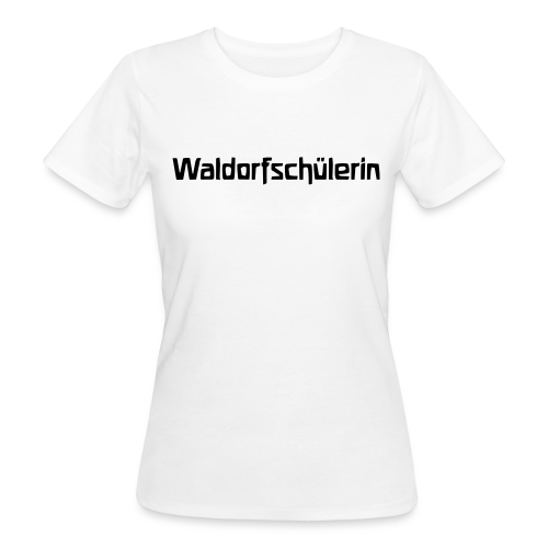 Waldorfschülerin Bio Shirt - Frauen Bio-T-Shirt