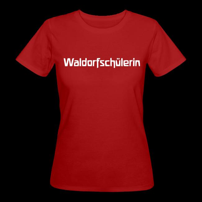 Waldorfschülerin Bio Shirt