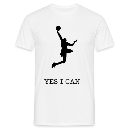 YES I CAN  - T-shirt Homme