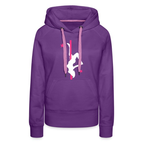 purple pole hoody - Women's Premium Hoodie