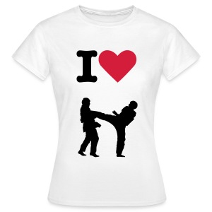 i love taekwondo - Women's T-Shirt