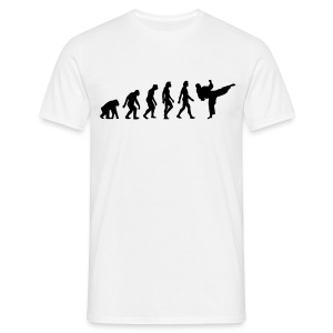 The evolution of Taekwondo - Men's T-Shirt